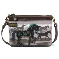 Charming Chala Safari Horse Lover Mini Crossbody Bag Handbag Purse