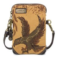 Charming Chala Soaring Eagle Cell Phone Purse Mini Crossbody Bag