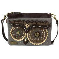 Charming Chala Wize Ole Owl Mini Crossbody Bag Handbag Purse