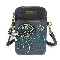 Charming Chala Jelly Fish Cell Phone Purse Mini Crossbody Bag