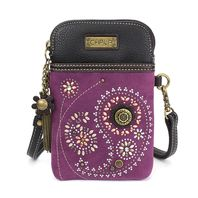 Charming Chala Paisley Swirl Cell Phone Purse Mini Crossbody Bag