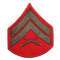 USMC Marine Corps Chevron Shoulder Patch US Military Rifle Patch