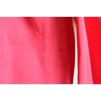 Carol Little Womens  Sz 10 Stylish Pink Beaded Denim Jacket