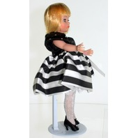 Madame Alexander Doll Cissette Dinner at Eight Sephora Striped GOWN