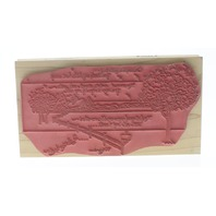 Stamps Happen D Morgan I Love You Mother Wooden Rubber Stamp