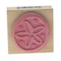 Vap Scrap Sand Dollar Ocean Creature Wooden Rubber Stamp