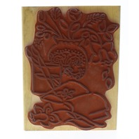 Puyallup Creative Stamping Still Life Sketch Wooden Rubber Stamp