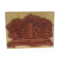 Denami Design Happy Birthday Gifts Present Party Wooden Rubber Stamp