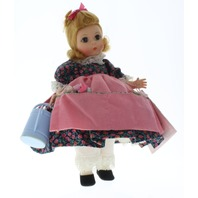 "Madame Alexander 8"" Doll Outfit Mary Mary Quite Contrary with Garden Pail"