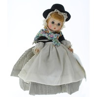 "Madame Alexander 8"" Doll Outfit Great Britain All Original Tagged Dress"