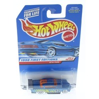 Hot Wheels 1998 First Edition At-A-Tude 34/40 667 Blue Number 5