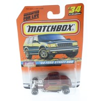 Matchbox Mattel Wheels 33 Ford Street Rod Classic Decades