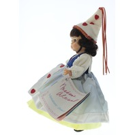 "Madame Alexander 8"" Doll Queen of Hearts Girl in Tagged Outfit Plaid"