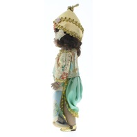 """Madame Alexander 8"""" Doll Thailand Girl in Tagged Outfit with Hat shoes"""