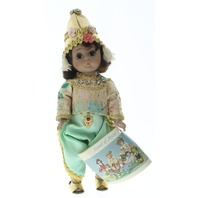 "Madame Alexander 8"" Doll Thailand Girl in Tagged Outfit with Hat shoes"