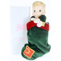 Precious Moments Classic Doll Gabrielle Doll with Stocking New
