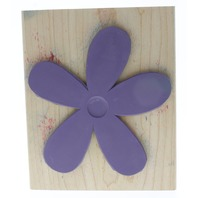 Stampin Up 2007 Big Blossom XL Large Wooden Rubber Stamp