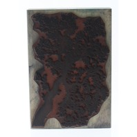 Stampscapes Oak Branch 203G Tree Limb Rubber Wooden Rubber Stamp