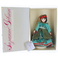 Vintage Mandarin Dolls of the World Suzanne Gibson Doll in Costume with Box
