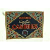Nutrine Quality Candies Chicago Candy Company Box Only Advertising