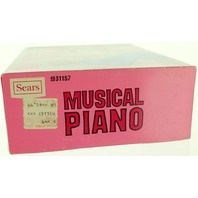 Sears White Musical Grand Piano for Barbie Dolls Unused New Unassembled