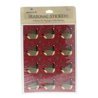 Hallmark Vintage Sticker Pack Goose Geese  4 Sheet pack