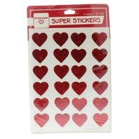 Hallmark Ambassador Vintage Sticker Pack Holiday Valentines Day Glitter Hearts