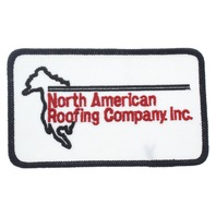 North American Roofing Company Inc. Uniform Patch