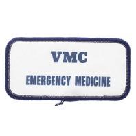 VMC Emergency Medicine Navy and White Uniform Patch
