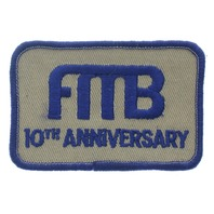 FRTB  10th Anniversary Uniform Patch