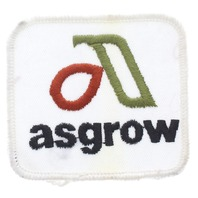 Asgrow Farming Seed Products Uniform Patch