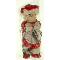 Precious Moments Mrs Claus with a Gift and Eye Glasses New in Plastic Bag