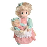 Precious Moments Milly and Her New Baby Doll Plush