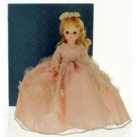 "Madame Alexander Pink Rich Cinderella in Ball Gown with Original Box 14"" Doll"