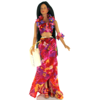 """Robert Tonner American Model Doll 22"""" Lani 1998 Hawaiian Lei Outfit"""