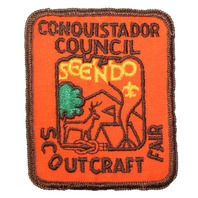 Conquistador Council Scout Craft Fair Boy Scout Uniform Patch