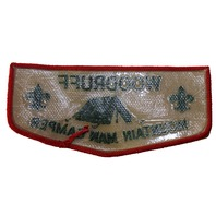 Woodruff Mountain Man Camper Boy Scout Uniform Patch