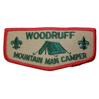 Woodruff Mountain Man Camper Boy Scout Uniform Patch