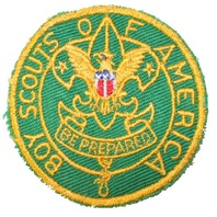 Boy Scouts of America Be Prepared Eagle Boy Scout Uniform Patch
