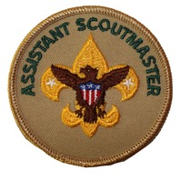 Assistant Scoutmaster Eagle Boy Scout Uniform Patch