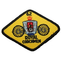 Royal Coachmen '62 Diamond Shaped Uniform Patch