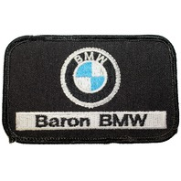 Baron BMW Black Logo Uniform Patch