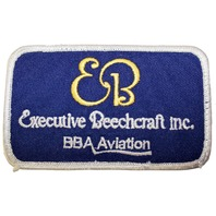 Executive Beechcraft Inc. BBa Aviation Logo Uniform Patch