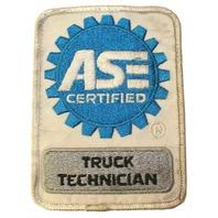 Truck Technician ASE Certified Logo Uniform Patch