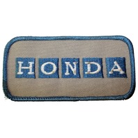 Honda Vehicles Logo Uniform Patch