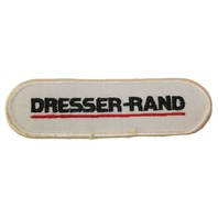 Dresser-Rand Oblong White Uniform Patch