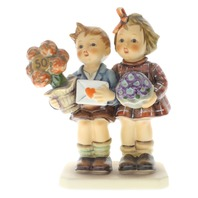 Goebel Hummel The Love Lives On #416 - 50th Anniversary Figurine Box TMK 6