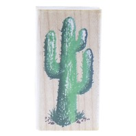 Stampendous Small Saguaro L027 Wooden Rubber Stamp