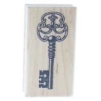 Rubber Stampede Skeleton Key3588C Wooden Rubber Stamp