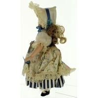 "Madame Alexander Doll 12"" original box Porcelain Little Bo Peep Limited Edition"